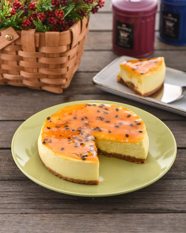 6'' Passion Fruits Cheese Cake