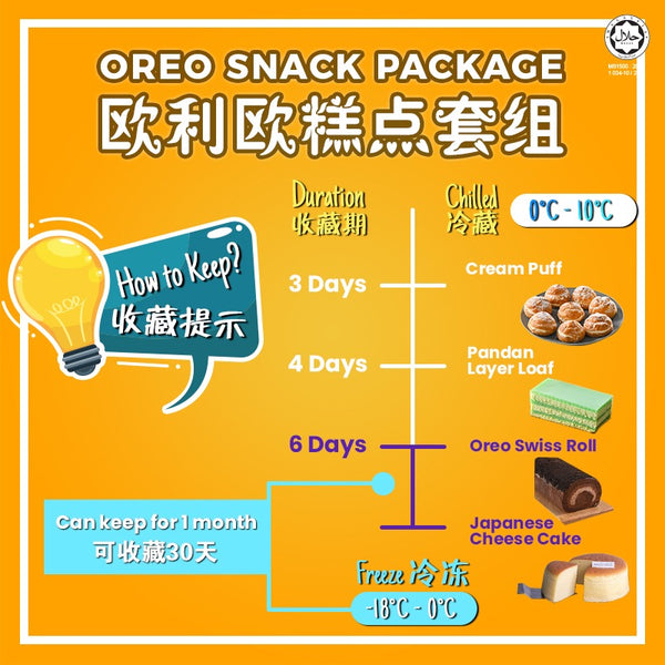 Oreo Snack Package