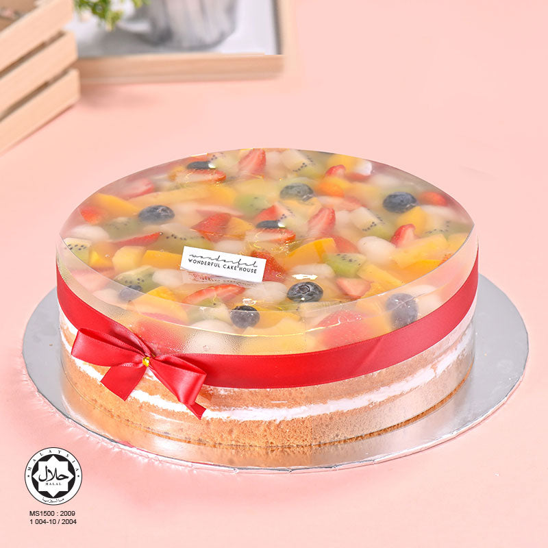 Fruity Delights Cake