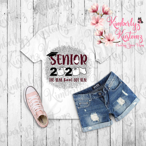 Senior 2020 PNG Sublimation Design ~ Digital File ~