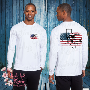 Cooling Performance Long Sleeve T-Shirt with Kellogg Fishing Club Logo