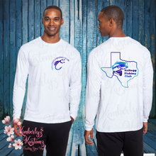 Load image into Gallery viewer, Cooling Performance Long Sleeve T-Shirt with Kellogg Fishing Club Logo