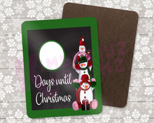 Load image into Gallery viewer, Christmas Countdown Dry Erase Boards