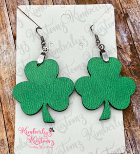 Saint Patrick's Day Clover Earrings