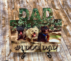 DAD Personalized Photo Board/Magnet