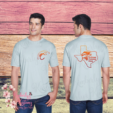 Load image into Gallery viewer, Men's Cool & Dry Sport Performance Interlock T-Shirt with Kellogg Fishing Club Logo