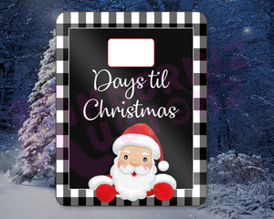 Christmas Countdown Dry Erase Boards