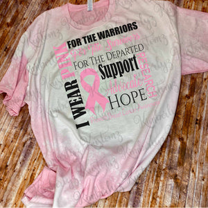 Breast Cancer Awareness T-shirt - Plus Size