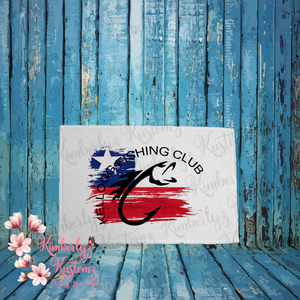 Small Boat Towel with Kellogg Fishing Club Logo