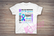 Load image into Gallery viewer, Suicide Awareness T-shirts