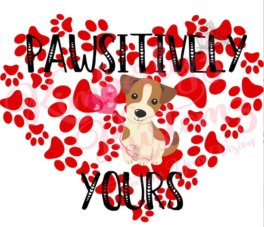Pawsitively Yours - Digital File