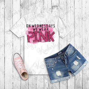 Breast Cancer Awareness T-shirt - White