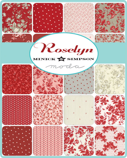 Roselyn Fat Quarter Bundle of 37 prints 14910AB by Minick & Simpson for Moda
