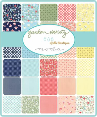Holland Quilt Kit with the Garden Variety Fabrics designed by Lella Boutique for Moda