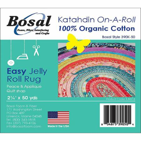 "Katahdin on A Roll 390K 50 Bosal - Batting roll strip 2 1/4""x 50 yds"
