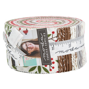 Merriment Jelly Roll 48270JR designed by Gingiber for Moda