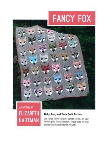 The original Fancy Fox EH 009 Pattern By Elizabeth Hartman