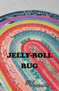 Jelly Roll Rug RJD 100 designed by Roma Lambson