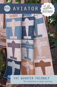 Aviator Quilt Pattern LB152 by Lella Boutique