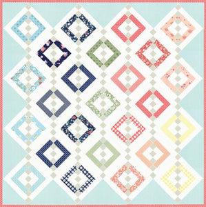 Chandelier 2 LB 171 Jelly Roll Friendly Quilt Pattern designed by Lella Boutique