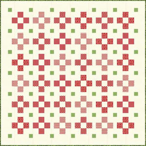 Very Merry Quilt Pattern SW P249 designed by Sweetwater