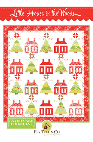 Little House In The Woods FT 1602 by Joanna Figueroa of Fig Tree Quilt Company