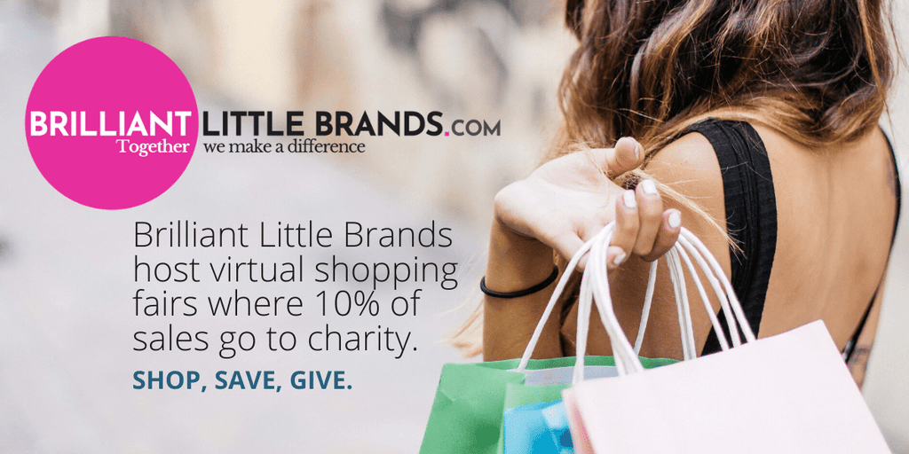 Working with Brilliant Little Brands and donating 10% to charity