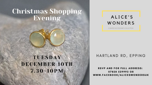 Christmas Shopping Event - Tuesday 10th December 7.30pm - Epping