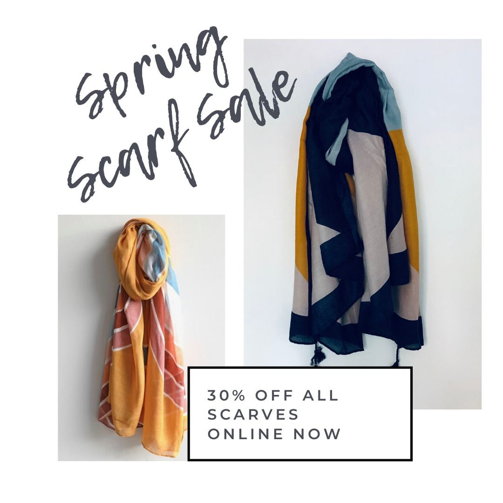30% off all scarves until midnight tonight (4th May!)