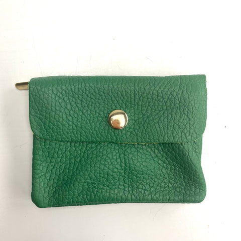 Green Soft Leather Small Purse