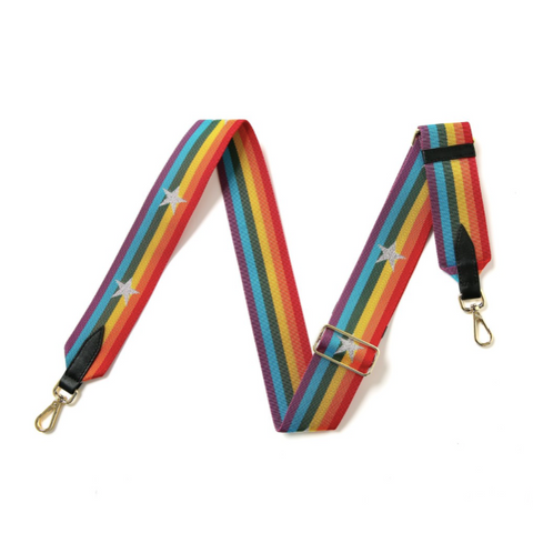 Rainbow and Star Bag Strap