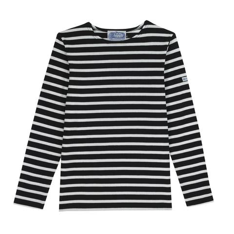 Black and White Breton Tee