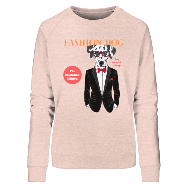 """Fashion Dog"": Damen-Sweatshirt mit Dalmatiner-Motiv - wauwau-wow.com"