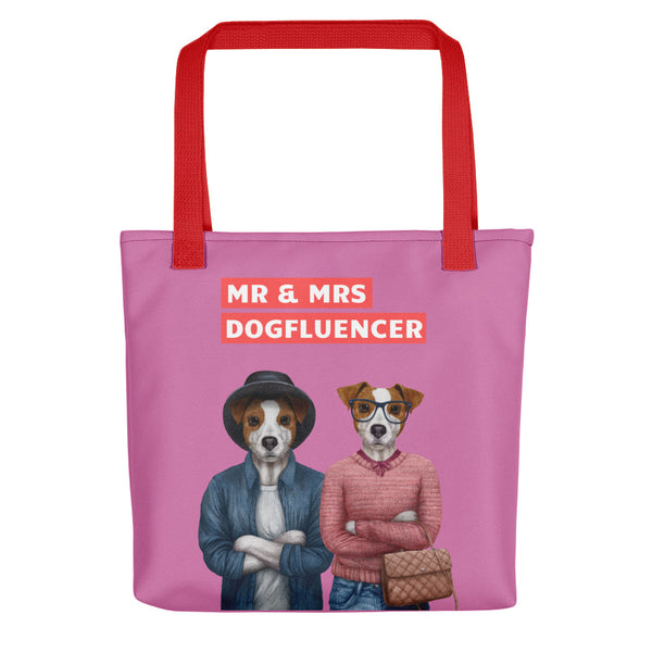Mr & Mrs Dogfluencer: Tote Bag mit Jack Russell Terriern - wauwau-wow.com