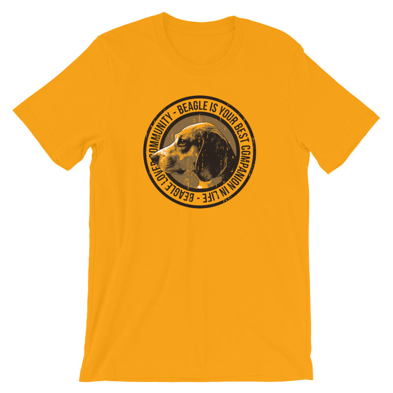 Fan-T-Shirt für Beagle-Besitzerinnen - wauwau-wow.com