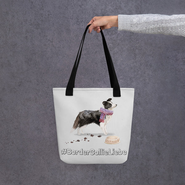 #BorderCollieLiebe: Stylishe Tote Bag mit Border-Collie-Motiv - wauwau-wow.com