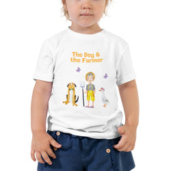 """The Dog & the Farmer"": Kinderbauernhof-Kleinkind-T-Shirt (Unisex) - wauwau-wow.com"