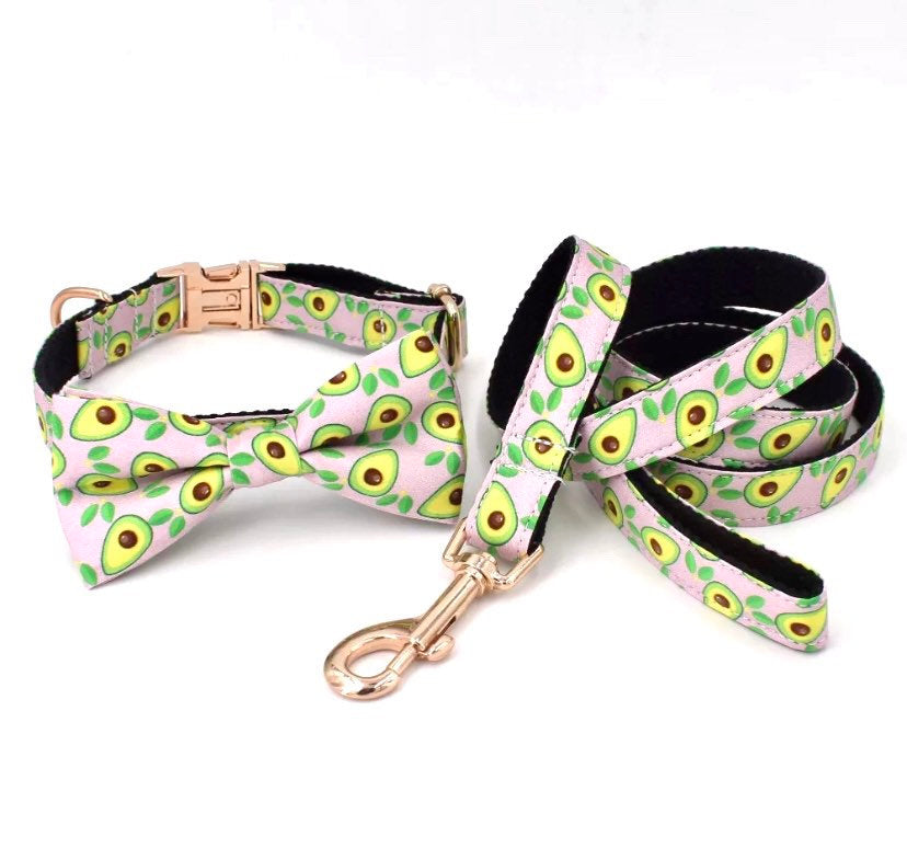 Personalized Dog Collar girl, boy dog collar Bow, xs Dog Collar with name, summer dog collar and leash, female dog collar, xs puppy collar