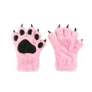 Pink - Paw Mitts