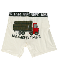 Unloading Timber - Mens Boxer Briefs