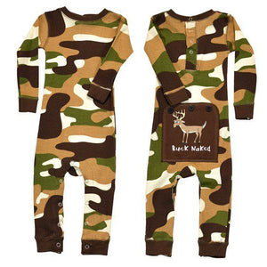 Buck Naked Camo (green) - Infant Flapjack