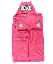 Load image into Gallery viewer, Owl - Critter Kids Blanket