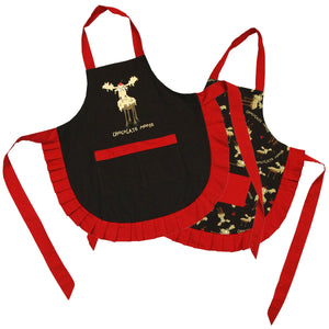 Chocolate Moose - Womens Apron