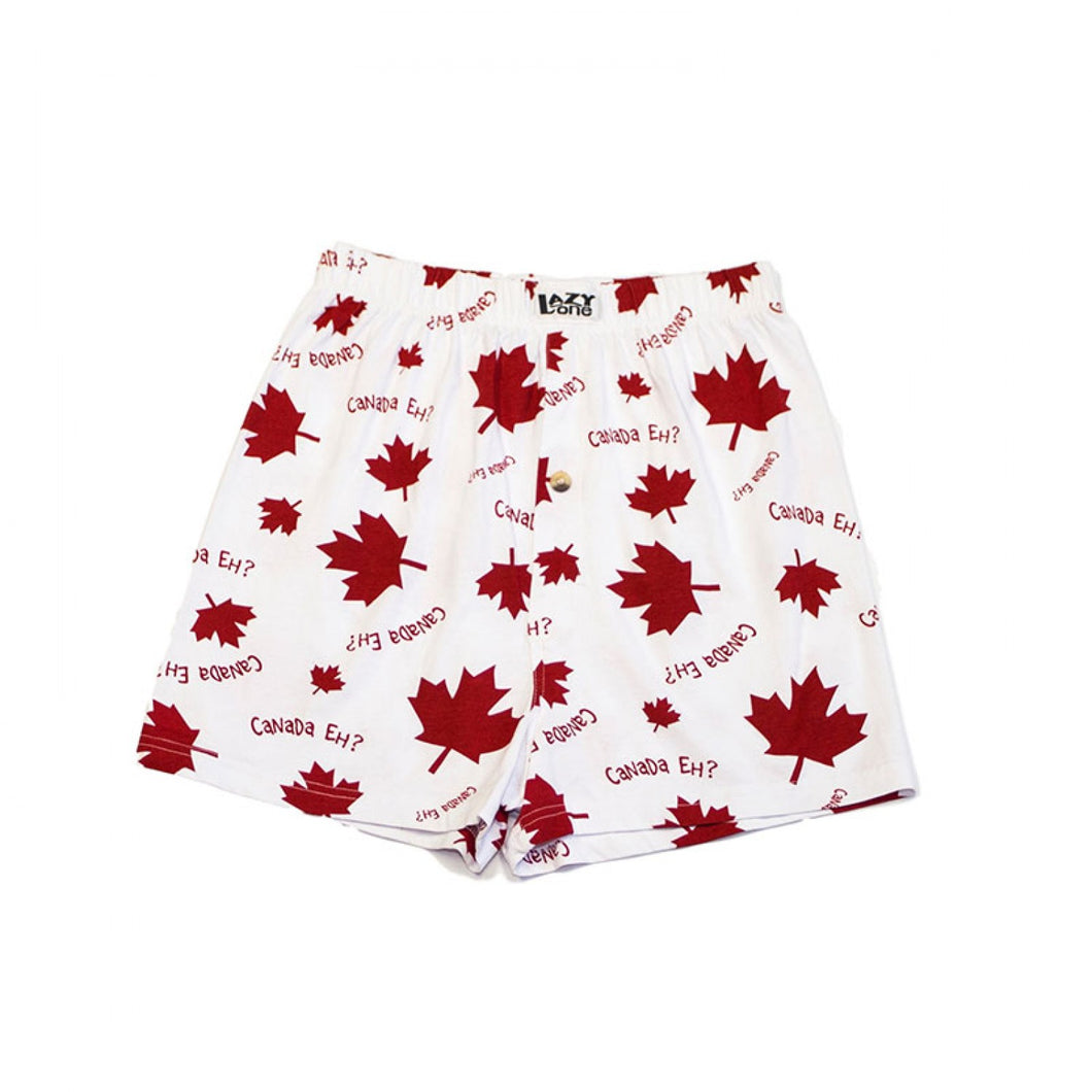 Canada Eh? (White) - Mens Boxers