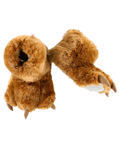 Brown - Paw Slippers
