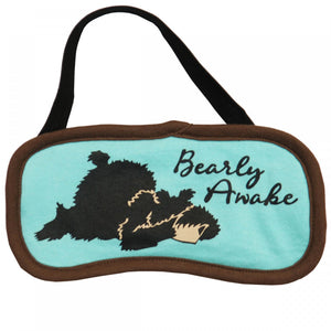 Bearly Awake - Sleep Mask