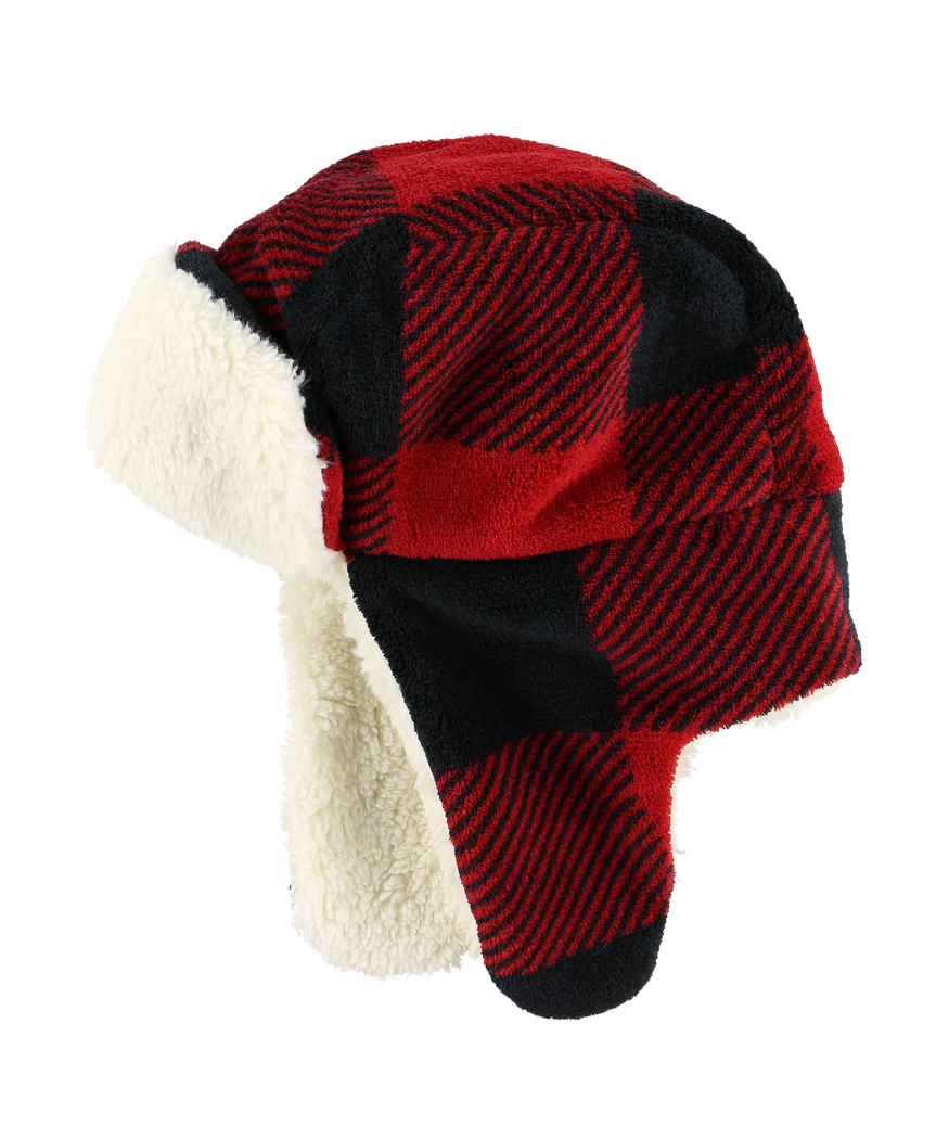 Red Plaid - Critter Cap