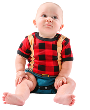 Load image into Gallery viewer, Lumberjack - Infant Creeper