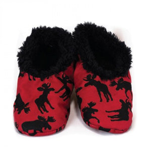 Classic Moose (Red) - Fuzzy Feet Kids
