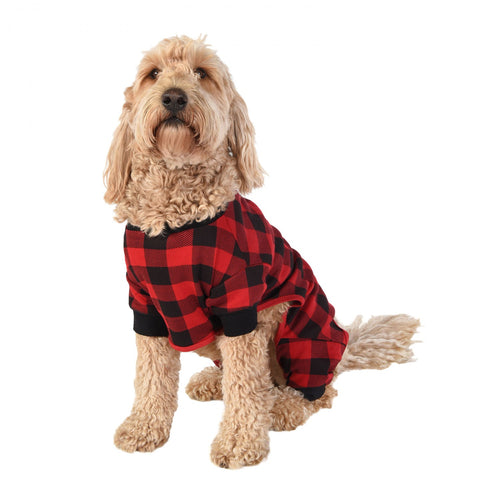 Red Plaid - Dog Flapjack